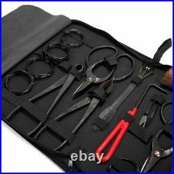 10Pc Carbon Steel Shear Garden Bonsai Pruning Tool Extensive Cutter Scissors Kit
