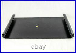 16.5 Japanese Lacquer Wooden Stand Base for Vase, Statue, Ikebana, Bonsai Tree