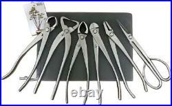 6 Pcs Bonsai Set Knob Cutter Trunk Splitter Concave Cutter Wire Cutter Jin Plier