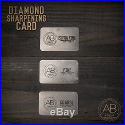 American Bonsai Stainless 6-Piece Diamond Sharpening Kit