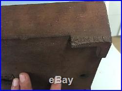 Antique Chinese Nakawatari Era Unglazed Bonsai Tree Pot 120-150 Year Old Piece
