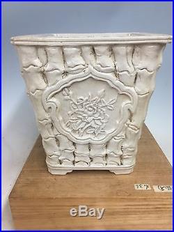 Antique Chinese Nakawtari Era Bonsai Tree Pot, Tagaki Collection Piece! 8 5/8