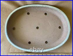 Bonsai Pot Flat Large Feminine Form 20 x 11 ½ x 2 ½high Signed Ex