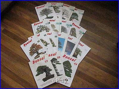Bonsai Today Magazine Collection 17 magaines lot