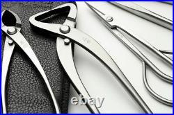 Bonsai Tool Set 7PCS Stainless Steel Professional Grade Gardening Pruning Kit