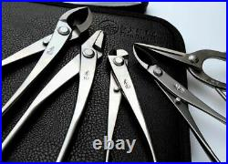 Bonsai Tool Set Stainless Steel 6PCS Professional Grade Gardening Kit