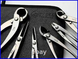 Bonsai Tool Set Stainless Steel 7PCS Professional Grade Gardening Kit