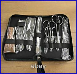 Bonsai Tool Set of 8 Pieces Shohin Bonsai Beginners Fast Shipping From Japan EMS
