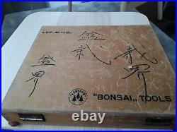 Bonsai Tools Kaneshin und Masakuni