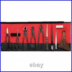 Bonsai Tools Kikuwa Bonsai 10-piece set Made in Japan from Japan