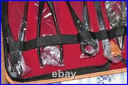 F/S Bonsai Tool 8pcs Kaneshin Seki Steel made in JAPAN From Japanese Shohin Tree