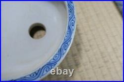 Genuine Japanese Bonsai pot Kutani Kinsei