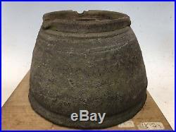 Handmade Unglazed Round Tokoname Bonsai Tree Yamaaki Pot 9 1st Gen