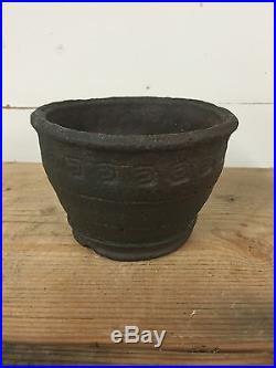 Handmade'Yamaaki' Unglazed Semi Cascade Shohin Bonsai Tree Pot 5