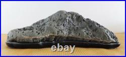 JAPANESE BONSAI SUISEKI Sedagawa-ishi / Seda River Stone 310140H110mm #S144