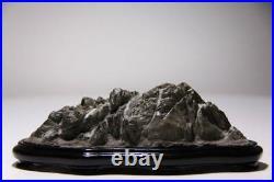 JAPANESE MOUNTAIN STONE 16cm/6.29 Bonsai Cascade JAPAN Bonseki Suiseki 869c