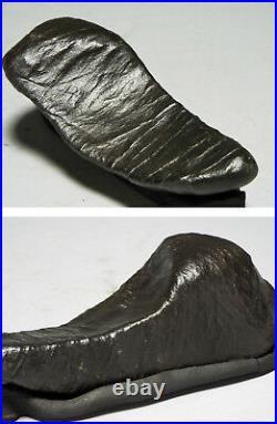JAPANESE NATURE STONE 15cm/5.91 Black Bonseki JAPAN Bonsai Suiseki c763