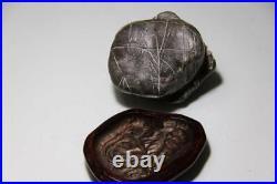 JAPANESE STONE 7.5cm/2.95 Bonsai KUZUYA FROM JAPAN Bonseki Suiseki ANTIQUE 566c