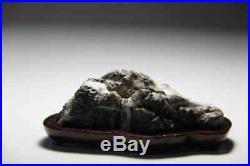 Japan bonsai suiseki scholar Stone (Ibi river stone) viewing stone