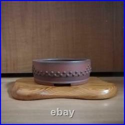 Japanese Bonsai Tree Pot By Bigei Tokoname From Japan #280r