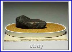 Japanese Collection Suiseki Bonsai Beautiful Stone / 3063g