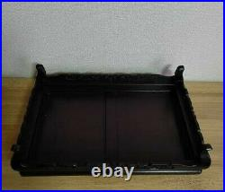 Japanese Flower stand Bonsai stand Wooden Small table 30(12in)×46(18in)×12cm5in