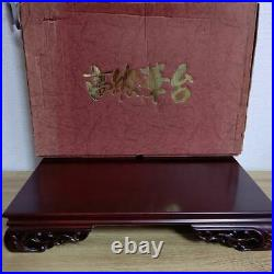 Japanese Flower stand Bonsai stand Wooden Small table 31.5(12in)×48(19in)×9cm4