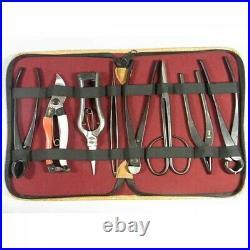 Japanese Kaneshin Work Bonsai Tool Set of 8 Pcs No. 177 Fast Shipping From Japan