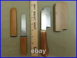 Japanese Vintage Bonsai Pruning Gardening Tool Kit Set Case Knives Shears &EXTRA