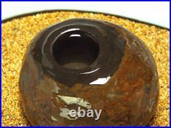 Japanese Vintage Suiseki Water Reservoir Stone / W10.5×H 6.5cm, 1000g