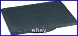KANEKO Bonsai Turntable Stand Large Rectangle 400 x 600 x 60mm ABS resin Black