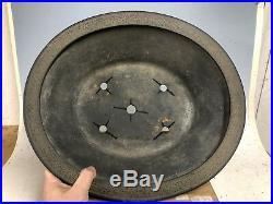 Large Deep Oval Tokoname Bonsai Tree Pot By Koyo 16 3/8