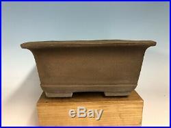 Large Size Unglazed Bonsai Tree Pot Made By Manzan 18 1/8