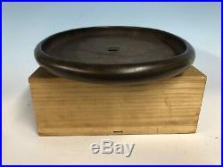 Larger Unglazed Oval Tokoname Bonsai Tree Pot By Keizan 16 Great Patina