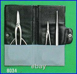 MASAKUNI BONSAI TOOLS SET PRO MODEL Shirosome 8000 Series for 3 pcs 8034 Japan