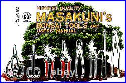 MASAKUNI BONSAI TOOLS Trimming Shear 0028 Made in Japan F/S