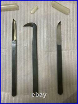 MASAKUNI Bonsai Main Work Carving Knife Lot set Made in Japan