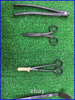 MASAKUNI Bonsai tool set pruning shears flower arrangement Tool Super Rare Japan