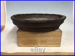 Masahiko Kimura Commissioned Handmade Nanban Style Bonsai Tree Pot 15