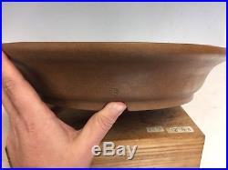 Massive 20 1/2 Handmade Tokoname Bonsai Tree Pot Made By Maruhei Kiln