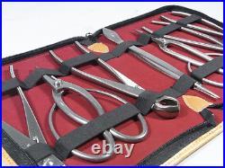 Mu376 Bonsai tool 7-piece set made of stainless steel Medium to big bonsai