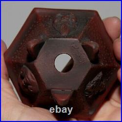 Quality handmade Tokoname bonsai pot Bigei 3.7 (9.5 cm)