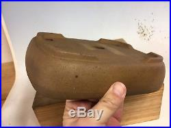 Rare Antique Japanese Made Bonsai Tree Pot Made By Kinka, Yamaaki Founder 9 1/4