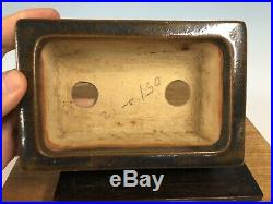Rare Vintage Japanese Shohin Size Bonsai Tree Pot 1st Gen Ino 6 1/4