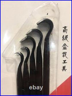 Ryuga Bonsai Tools Set Of 5 190mm Hand Carving Tools