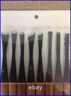 Ryuga Bonsai Tools Set Of 8 Bonsai Carving Tools 160mm