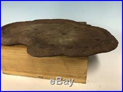 Slab Style Unglazed Tokoname Yamaaki Bonsai Tree Pot 16 3/8