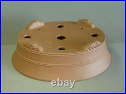 TOKONAME Bonsai Pot SANPOU Oval W300mm x D235mm x H93mm
