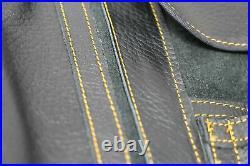 The Kiku Pro 13 Leather Bonsai Tool Roll Case- 11 Pockets + 2 Zipper Black Le
