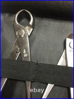 Tian Bonsai Tool Kit Set Professional Graded Tweezers Cutting Equipment 6PCS